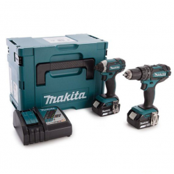 Makita 2-teiliges Akku-Set...
