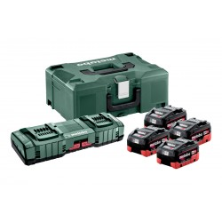 Metabo Basis-Set 4 x 8.0 Ah...