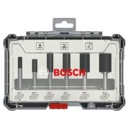 Bosch Nutfräser-Set 6-tlg....