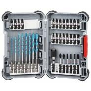 Bosch HEX-9 MultiConstruction Bohrer und Bit-Set 35-teilig - 2608577147
