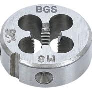 BGS Gewindeschneideisen M8...