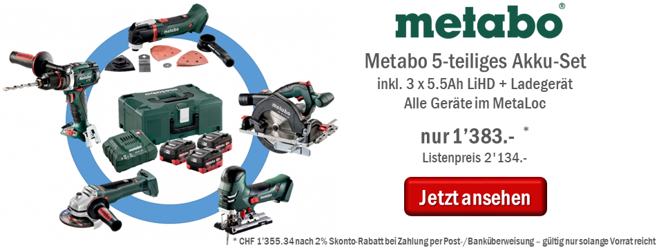 Metabo Mega-Set